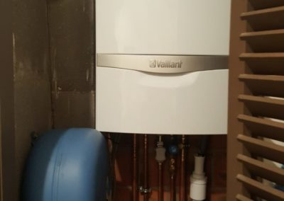 Ketelvervanging Vaillant in kast
