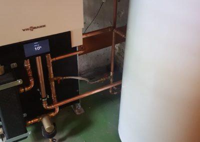 ketelvervanging met boiler Viessmann 3